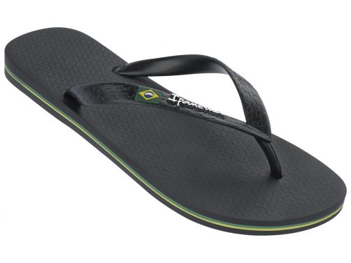 Ipanema - Flip-flops for men - Classic Brasil - black - Front