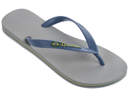 Ipanema - Flip-flops for men - Classic Brasil - grey - Front