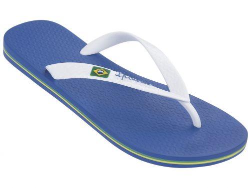 Ipanema - Flip-flops for men - Classic Brasil - blue / white - Front