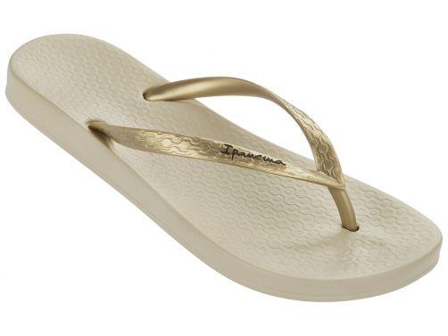 Ipanema - Flip-flops for women - Anatomic Tan - gold / beige - Front