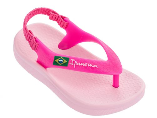 Ipanema - Sandals for babies - Anatomic Soft - pink - Front
