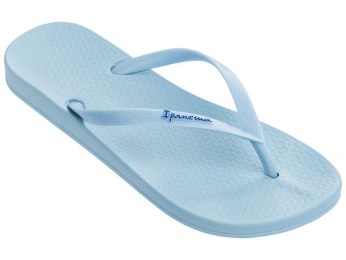 Ipanema - Flip-flops for women - Anatomic Tan Colors - light blue - Front