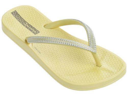 Ipanema - Flip-flops for girls - Mesh Kids - light yellow - Front