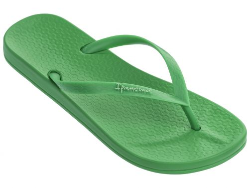 Ipanema - Flip-flops for women - Anatomic Tan Colors - green - Front