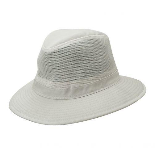 Dorfman-Pacific---UPF-50+-Men's-UV-Hat-Putty