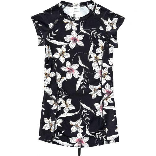 O'Neill---UV-swim-shirt-for-women---Mix-&-Match---Black-AOP-/-pink-2