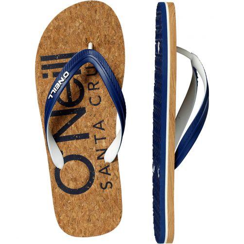 O'Neill - Flip-flops for men - Profile - Brown AOP - Front