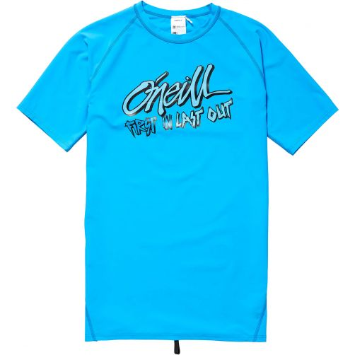 O'Neill - UV swim shirt for boys - First in Last out - Dresden blue - Front