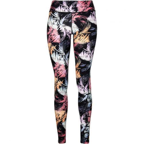 O'Neill---UV-leggings-for-women---Black-AOP-/-pink