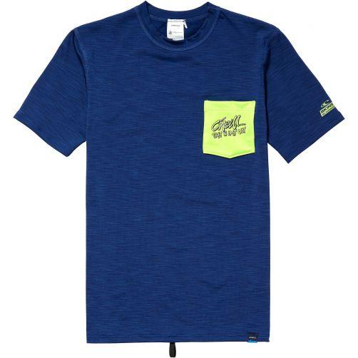 O'Neill - UV shirt for boys - Atlantic blue - Front