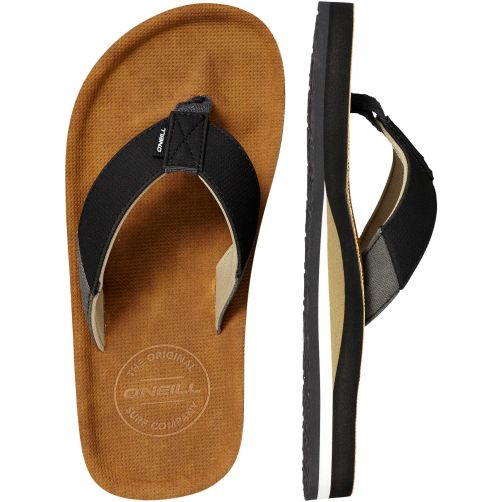 O'Neill---Flip-flops-for-boys-with-suede-look---Chad---Tobacco-Brown