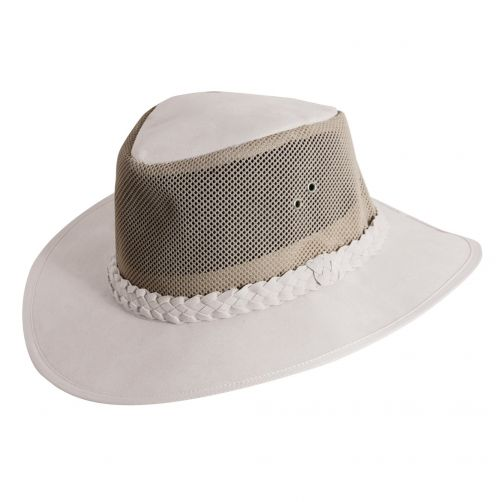 Dorfman-Pacific---UV-hat-for-men---White