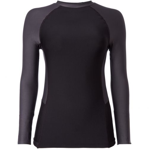 O'Neill---Women's-UV-Shirt-Long-Sleeved--Black