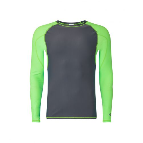 O'Neill---Men's-long-sleeve-UV-Shirt---Grey-/-Light-Green