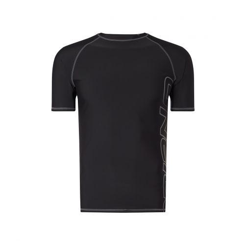 O'Neill---Men's-UV-Shirt---Short-Sleeve---Black