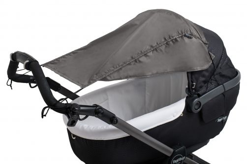 Altabebe---Universal-UV-sun-screen-with-sides-for-strollers---Dark-grey