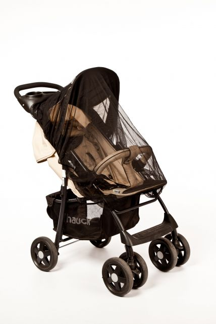 Altabebe---Universal-insect-net-for-strollers,-prams-and-buggies---Black
