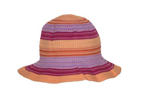 Rigon---UV-bucket-hat-voor-kinderen---Chloe---Oranje