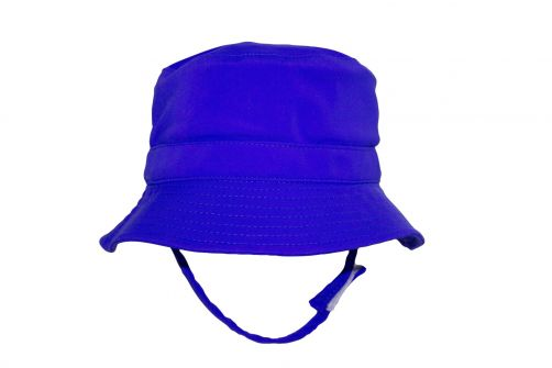 Rigon---UV-bucket-hat-for-babies---Royal-blue