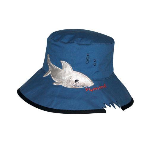 Rigon---UV-bucket-hat-for-children---Blue-shark