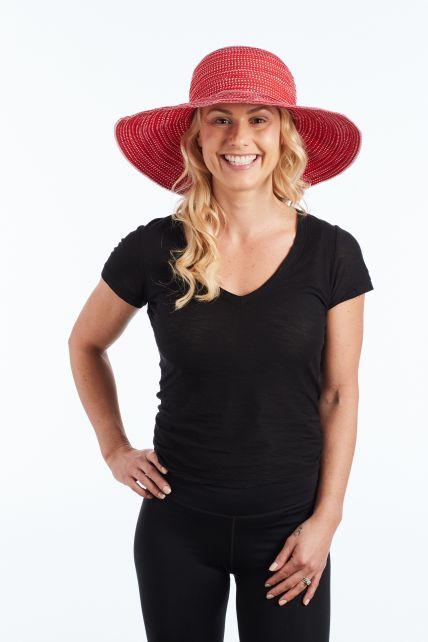 Rigon---UV-Floppy-hat-for-women---Red
