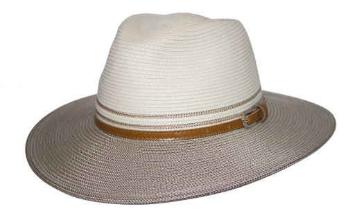 Rigon---UV-sun-hat-for-women---Ivory-/-bronze