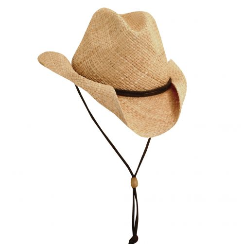 Scala---UV-western-hat-for-Kids---Brown
