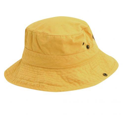 Scala---UV-boonie-hat-for-Kids---Yellow-Navy