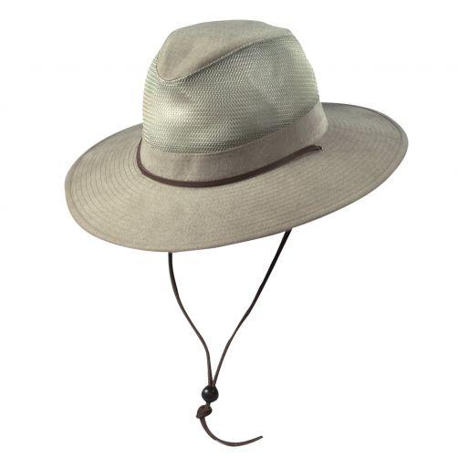 Scala---UV-safari-hat-for-Kids---Kaki
