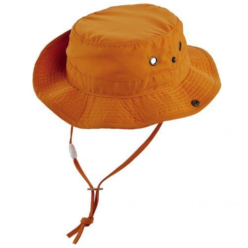 Scala---UV-boonie-hat-for-Kids---Orange