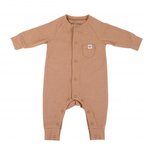 Cloby---UV-Playsuit-for-babies---Coconut-Brown