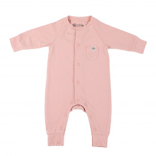 Cloby---UV-Playsuit-for-babies---Misty-Rose