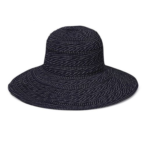 Emthunzini-Hats---UV-Floppy-sun-hat-for-women---Scrunchie---Black