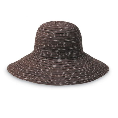 Emthunzini-Hats---UV-Floppy-sun-hat-for-women---Scrunchie---Brown