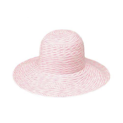 Emthunzini-Hats---UV-Floppy-sun-hat-for-women---Scrunchie---White/Pink