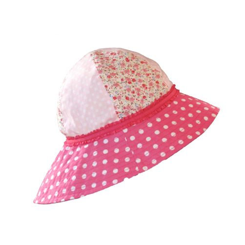 Emthunzini-Hats---UV-Sun-hat-for-babies---Gracie---Fuchsia