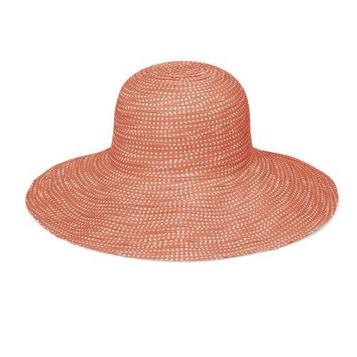 Emthunzini-Hats---UV-Floppy-sun-hat-for-women---Scrunchie---Orange