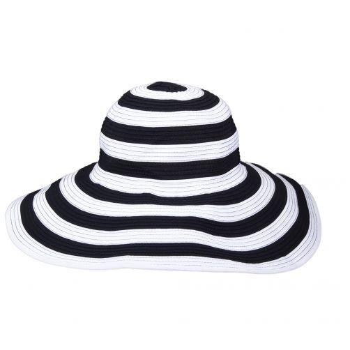 Scala---UV-hat-for-women---Black-White