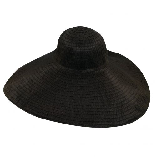 Scala---UV-hat-for-women-with-big-brim---Black