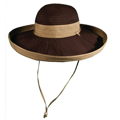 Scala---UV-hat-for-women---Chocolade