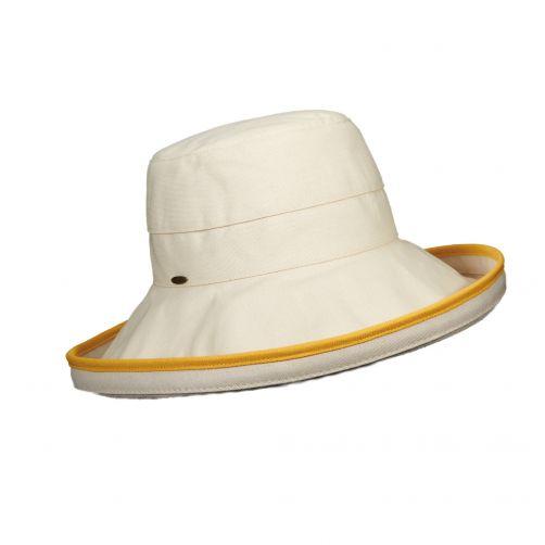 Scala---UV-hat-for-women---Banaan