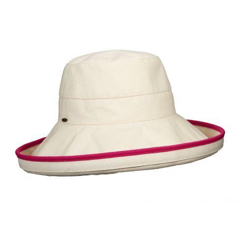 Scala---UV-hat-for-women---Fuchsia
