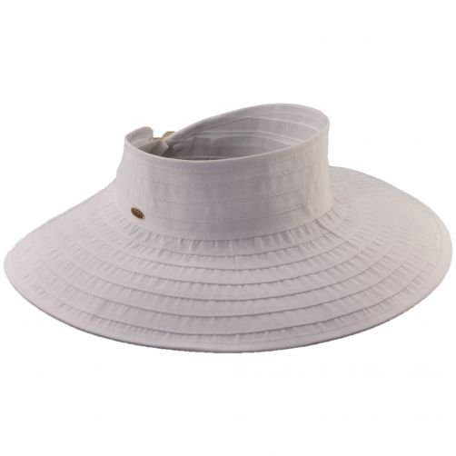 Scala---UV-visor-for-women---White