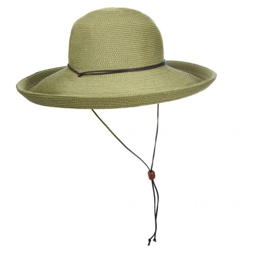 Scala---UV-hat-Whiteh-cord-for-women---Olive
