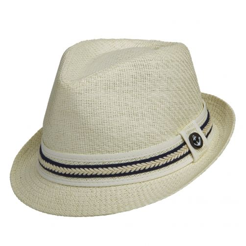 Tropical-Trends---UV-hat-for-women---Navy