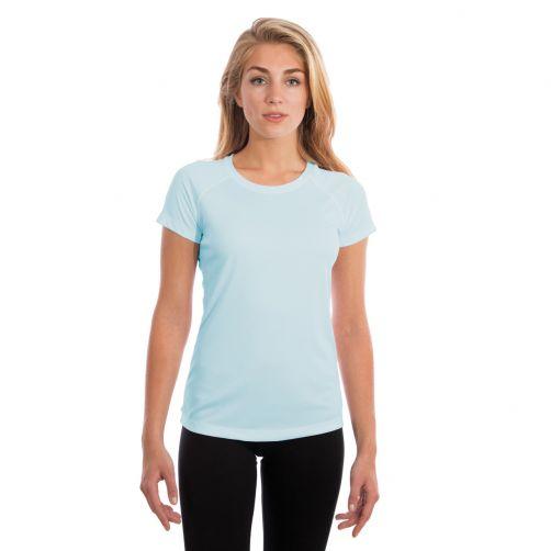 Vapor-Apparel---Women's-UV-shirt-with-short-sleeves---light-blue
