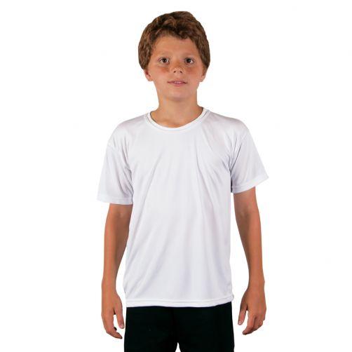 Vapor-Apparel---UV-shirt-for-children-with-short-sleeves---white