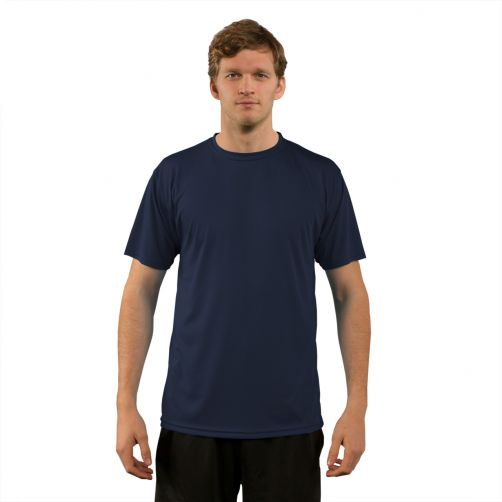 Vapor-Apparel---Men's-UV-shirt-with-short-sleeves---dark-blue