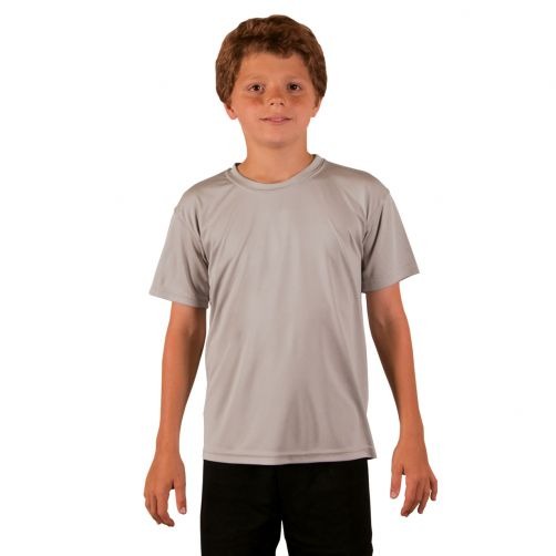 Vapor-Apparel---UV-shirt-for-children-with-short-sleeves---grey
