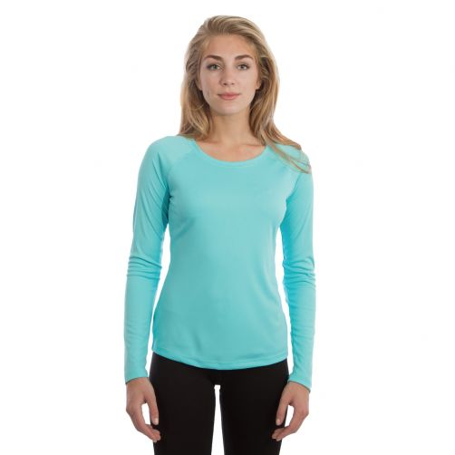 Vapor-Apparel---Women's-UV-shirt-with-long-sleeves---light-blue